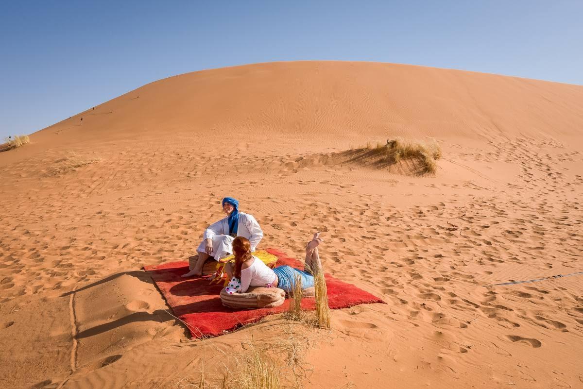 desert in morocco