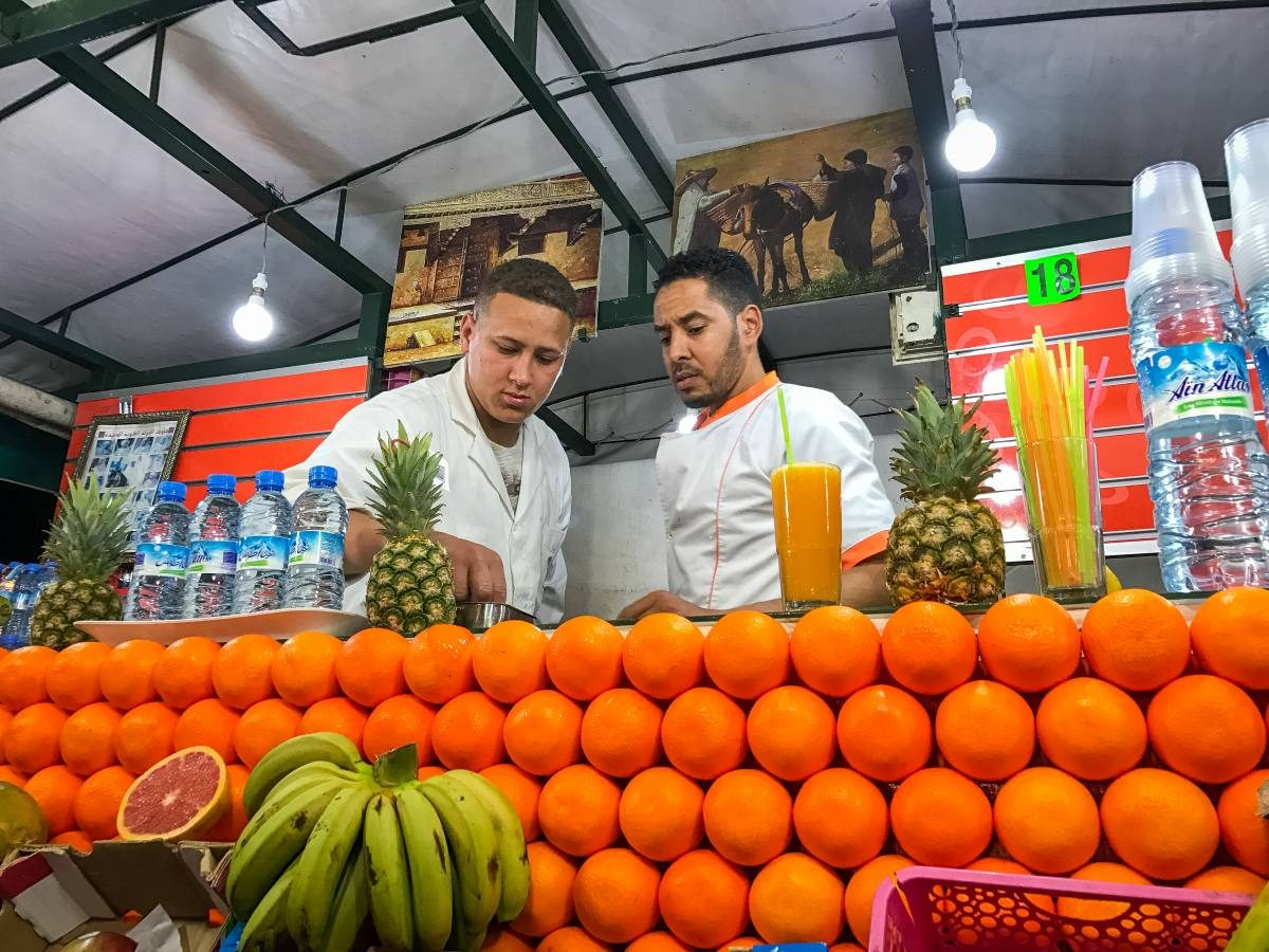 orange juice marrakesh