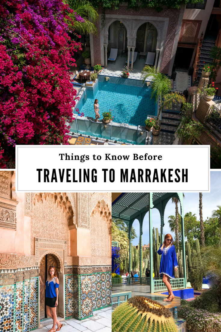 Marrakesh Travel Tips
