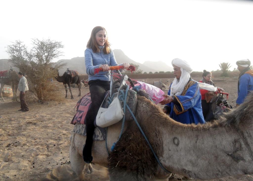 Hop on a camel!