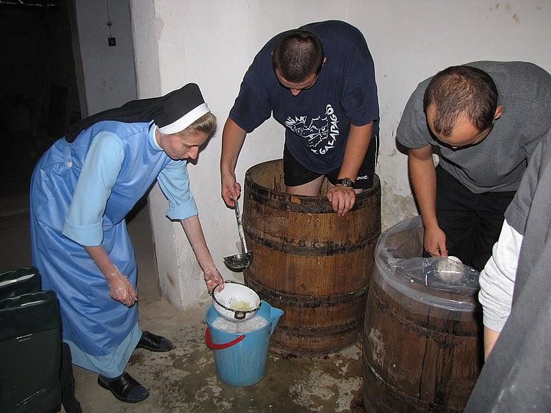 Preparation of kapusta kiszona