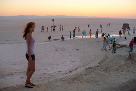 salt desert tunisia