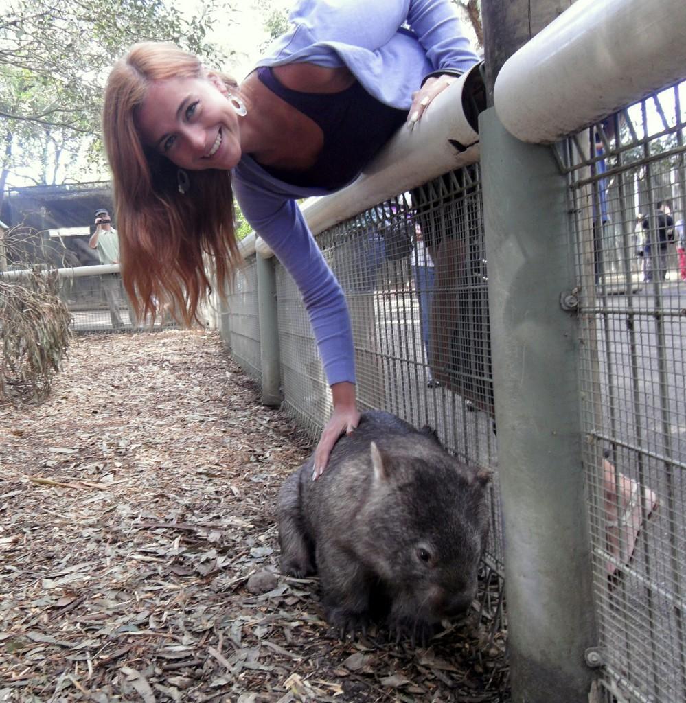 me+wombat