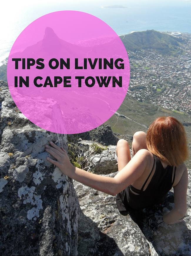 Tips on Living in Cape Town