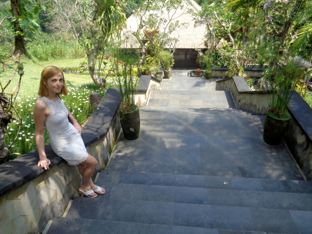 Entrance to Hanging Gardens Ubud