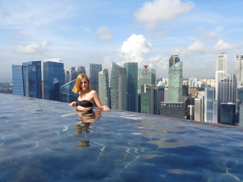 Marina bay sands review anna everywhere - Marina bay sands resort singapore swimming pool ...