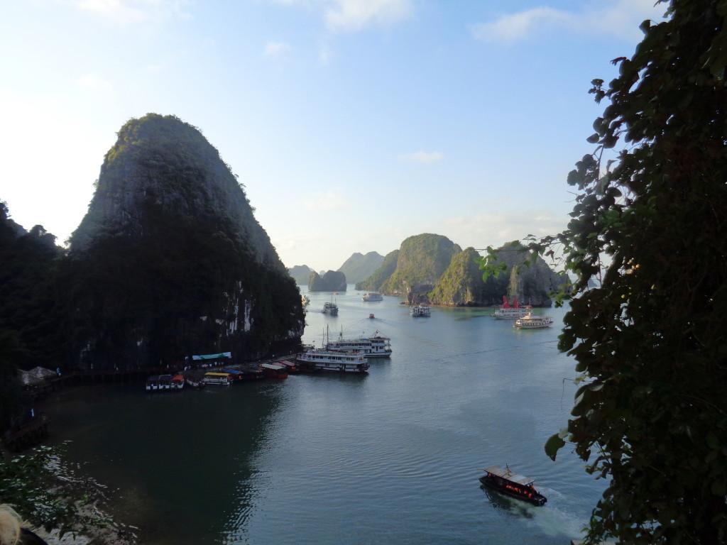 visiting Halong Bay