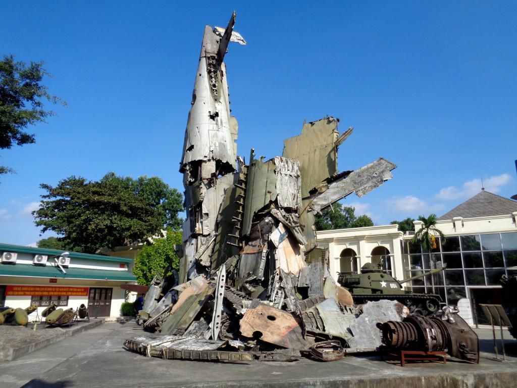 War Museum in Hanoi.