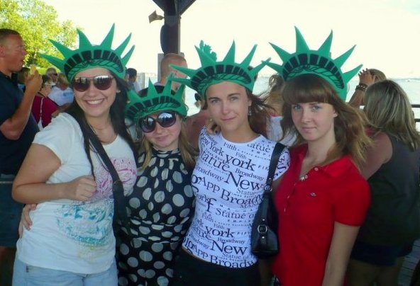 First time in NYC - such a joy! :D