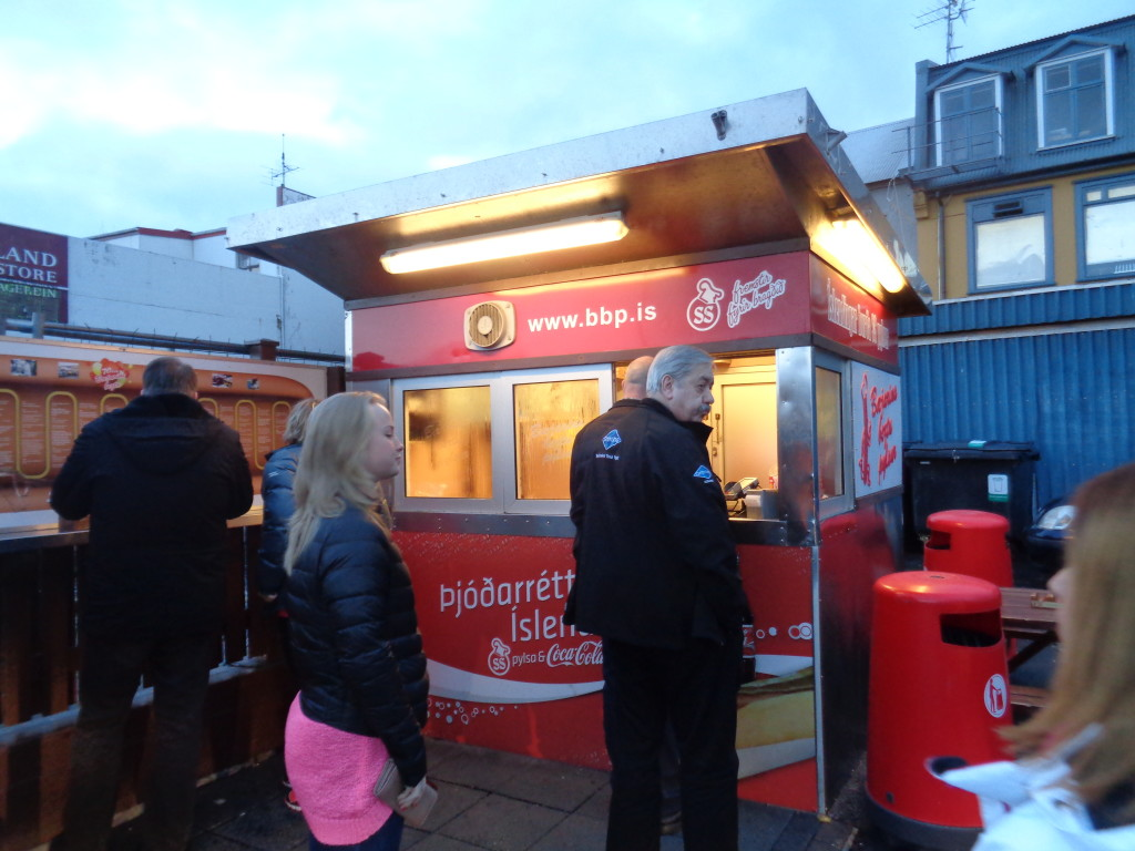 Famous hot-dog stall!