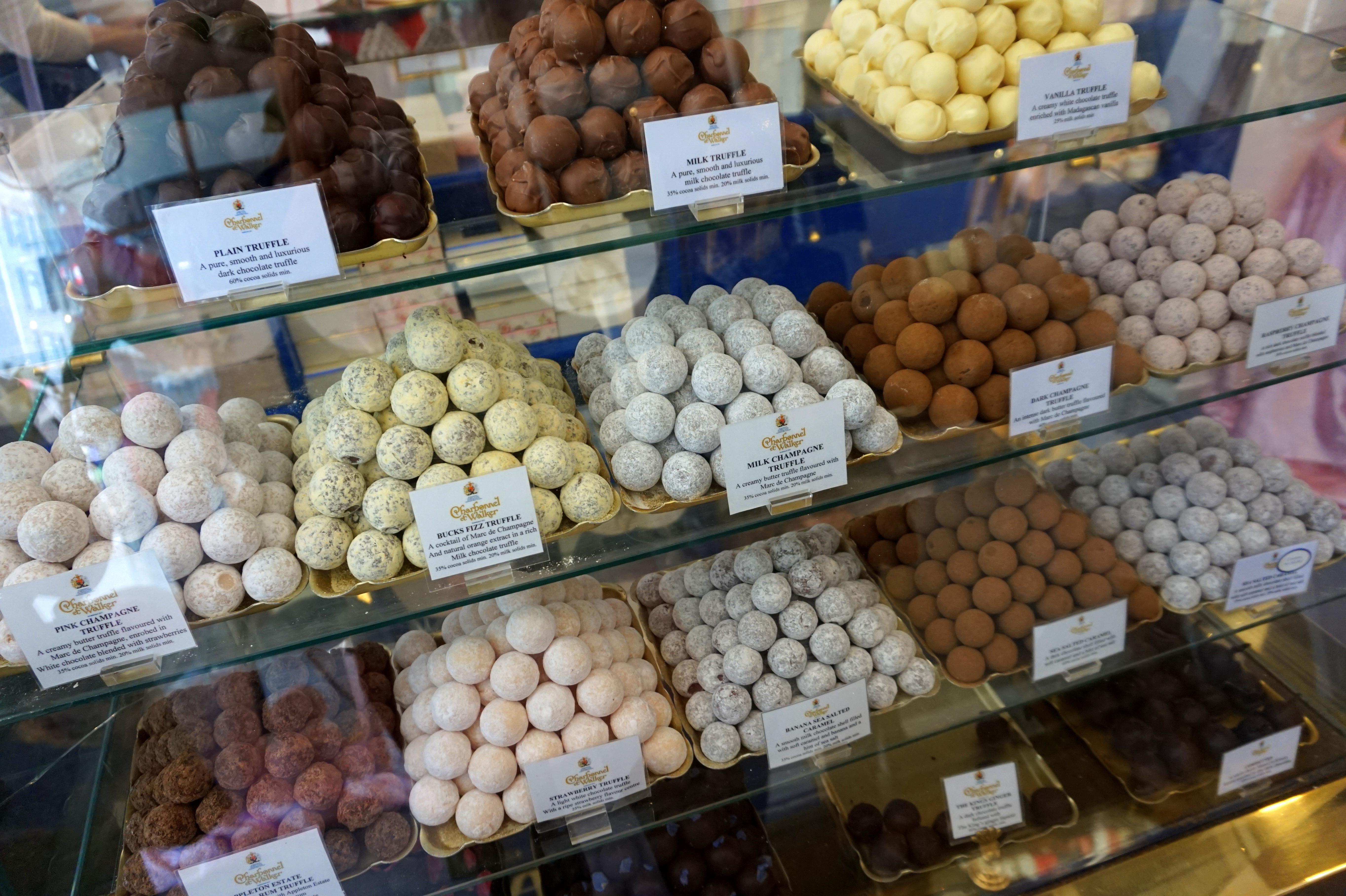 chocolates london