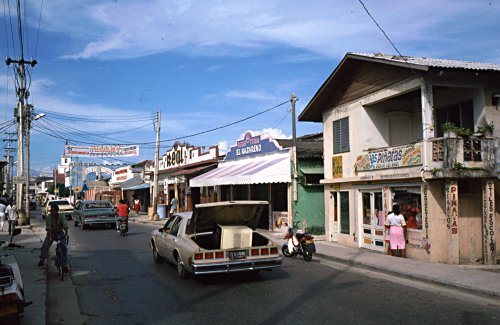 San Andres streets