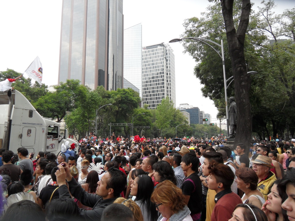 Paseo de la Reforma is often closed for events...