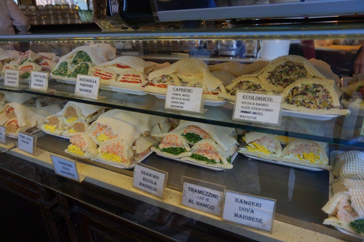 Tramezzini sandwiches