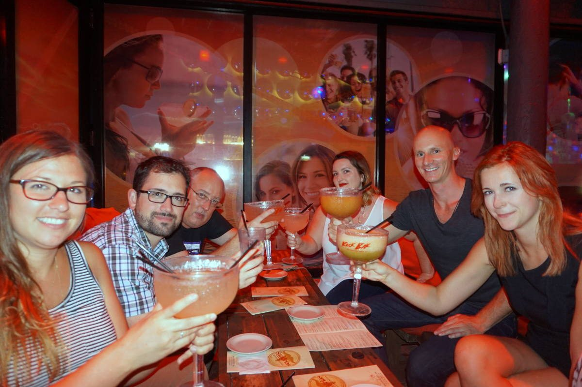 Networking at TBEX Florida in 2015