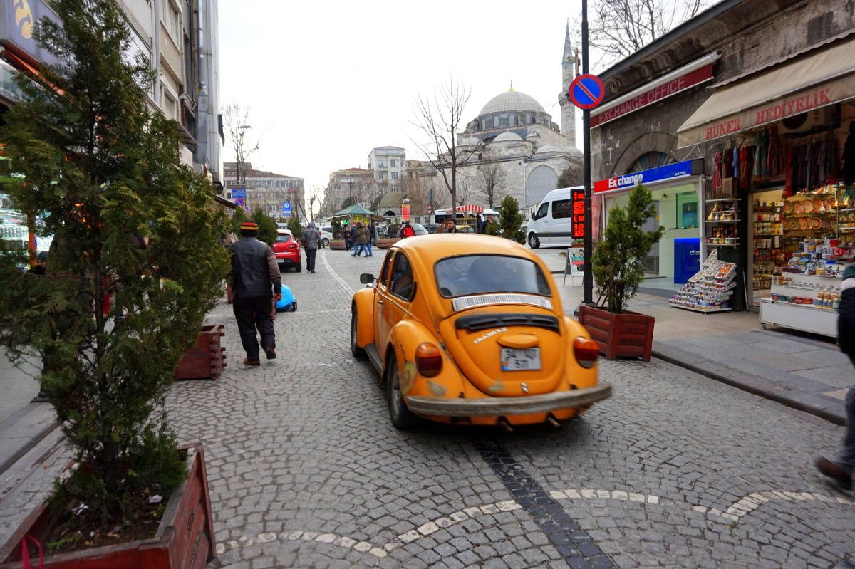 how to get around Istanbul