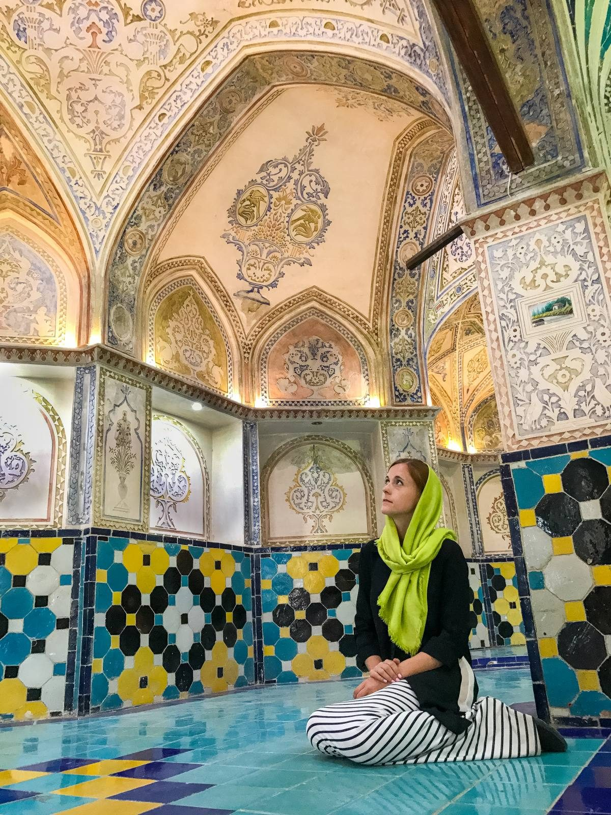 solo travel in Iran