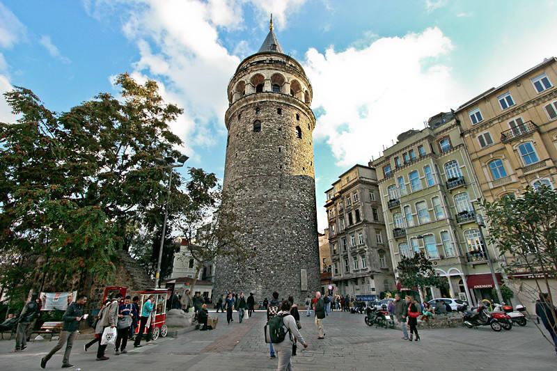 Turkey-Istanbul-Galata-Tower