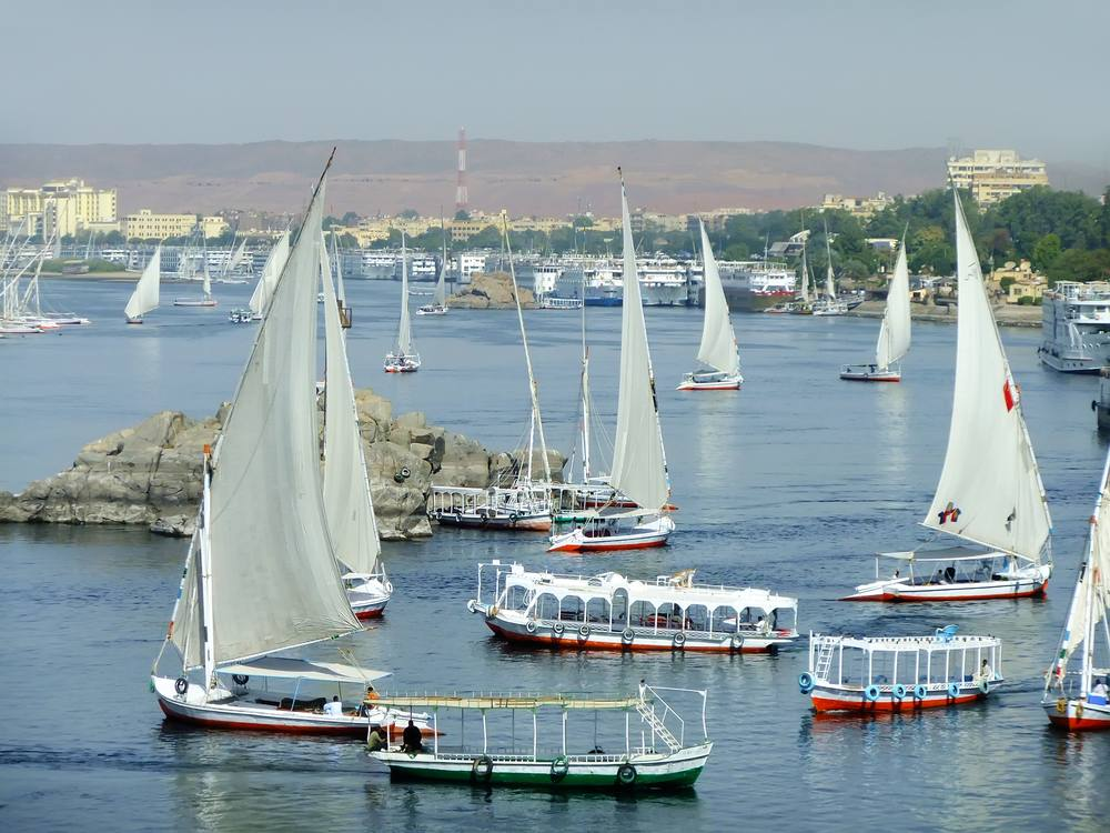 Fleucca Ride in Aswan