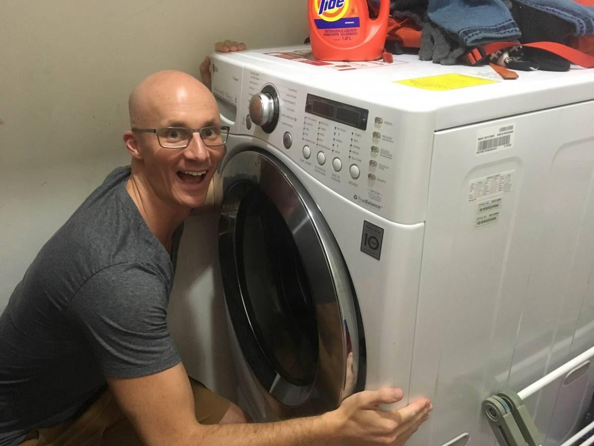 Washing machine - new gadget for men!