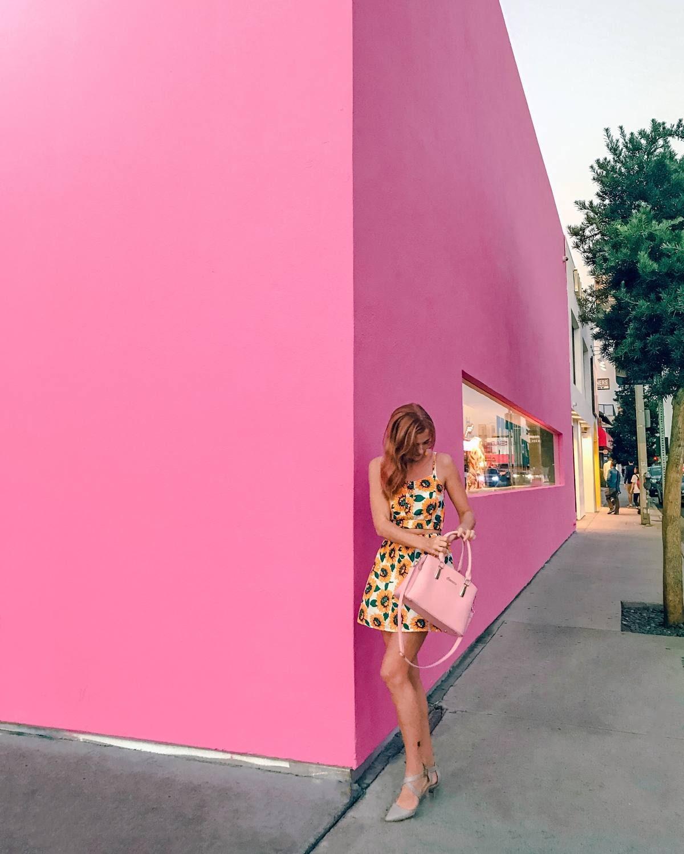 Paul Smith pink wall LA