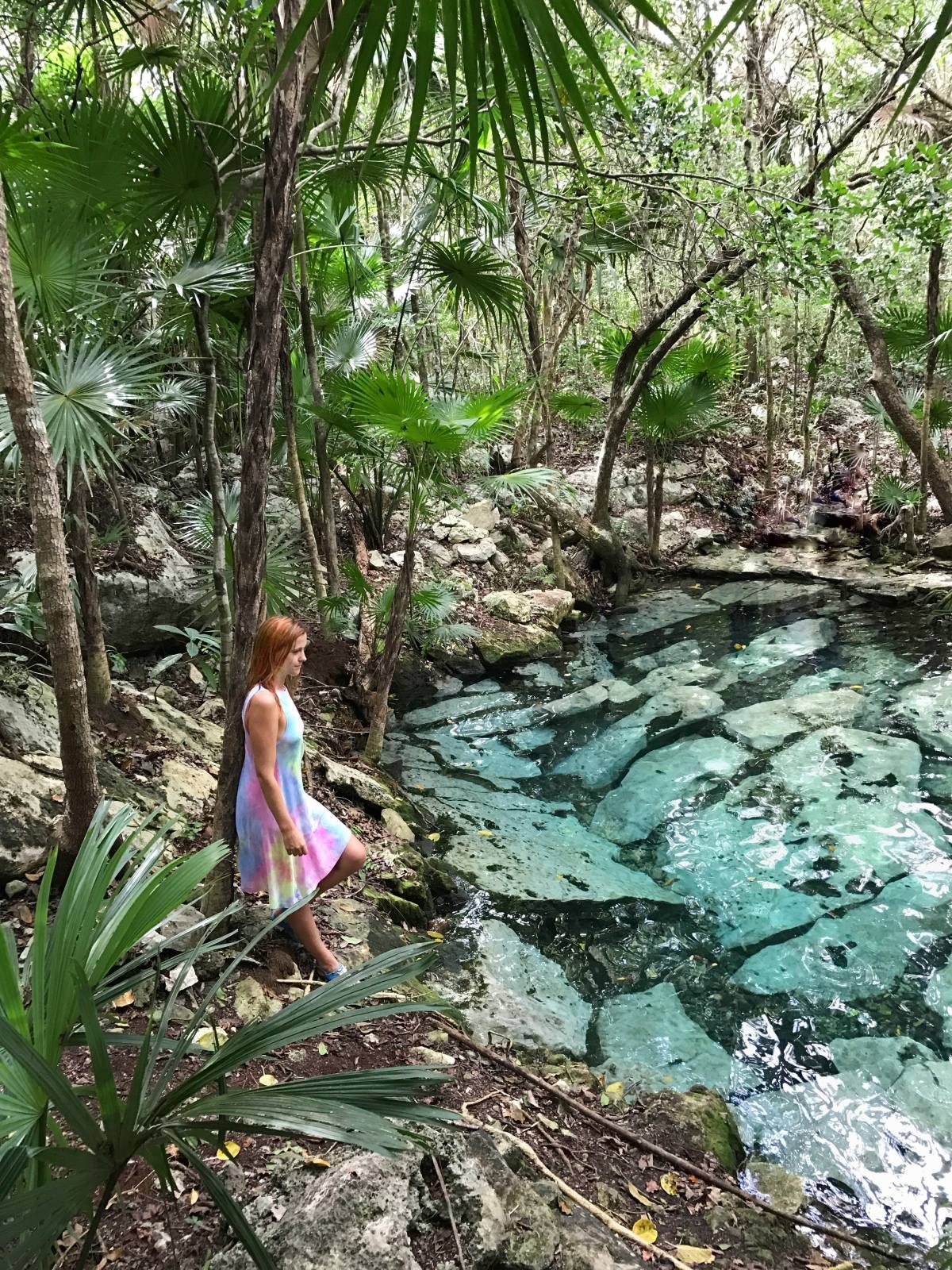 Cenote Azul, Mexico