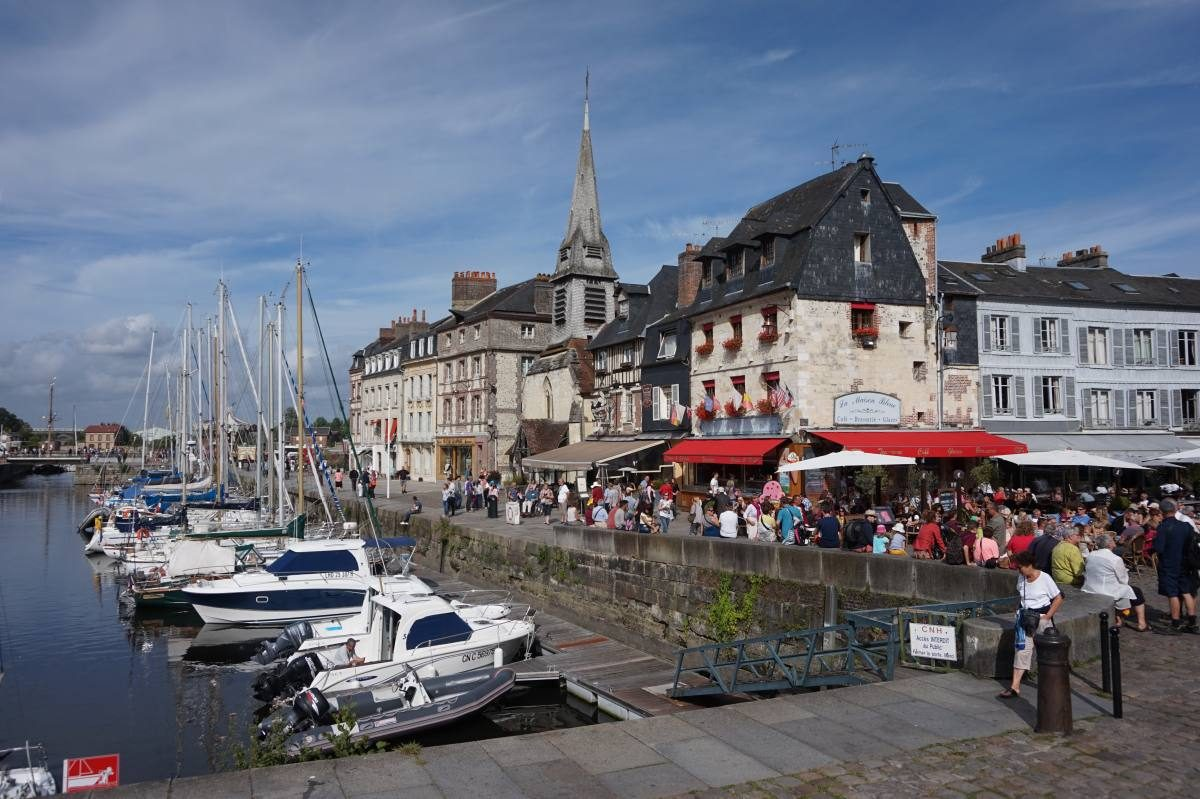 Pretty town of Honfleur