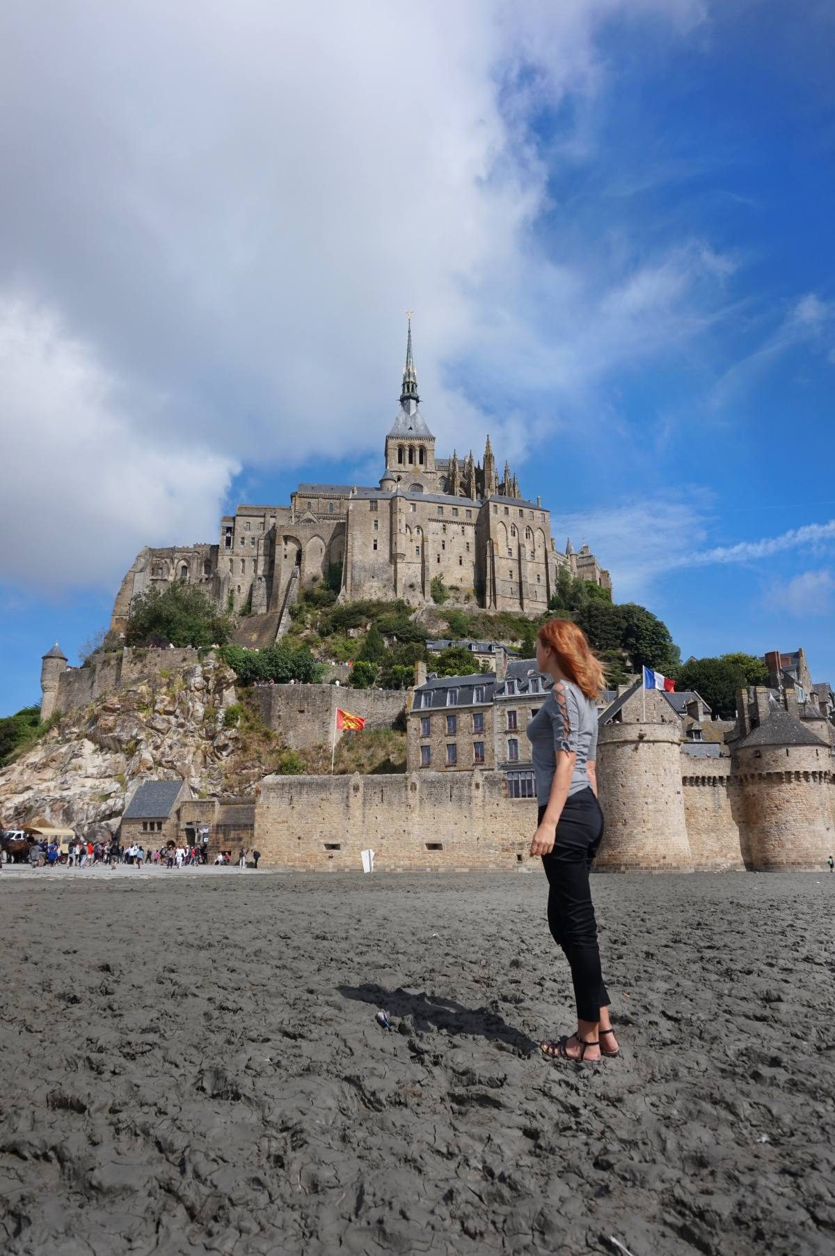 Mont St Michel from Paris