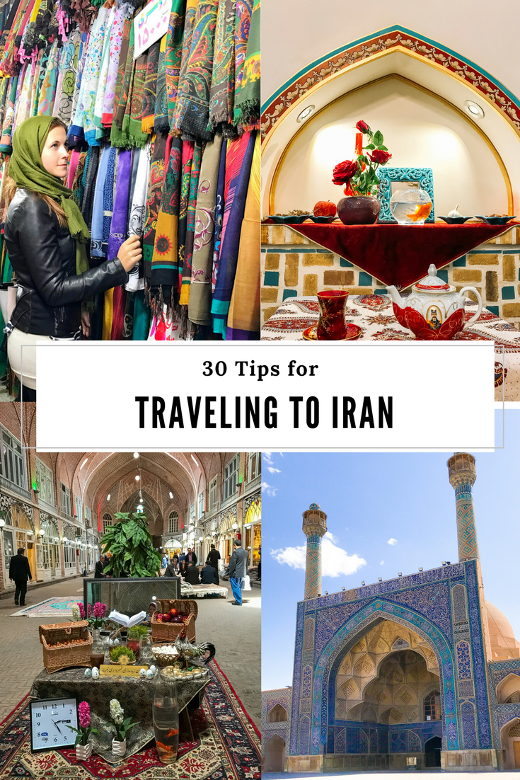 Tips for Traveling to Iran