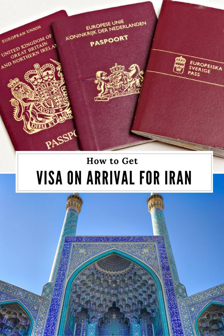 How to Get Iran Visa on Arrival (VOA)