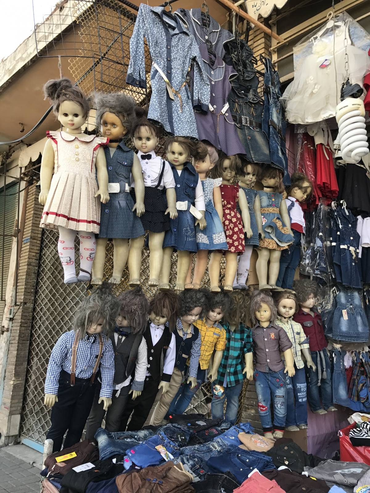 creepy dolls in Iran