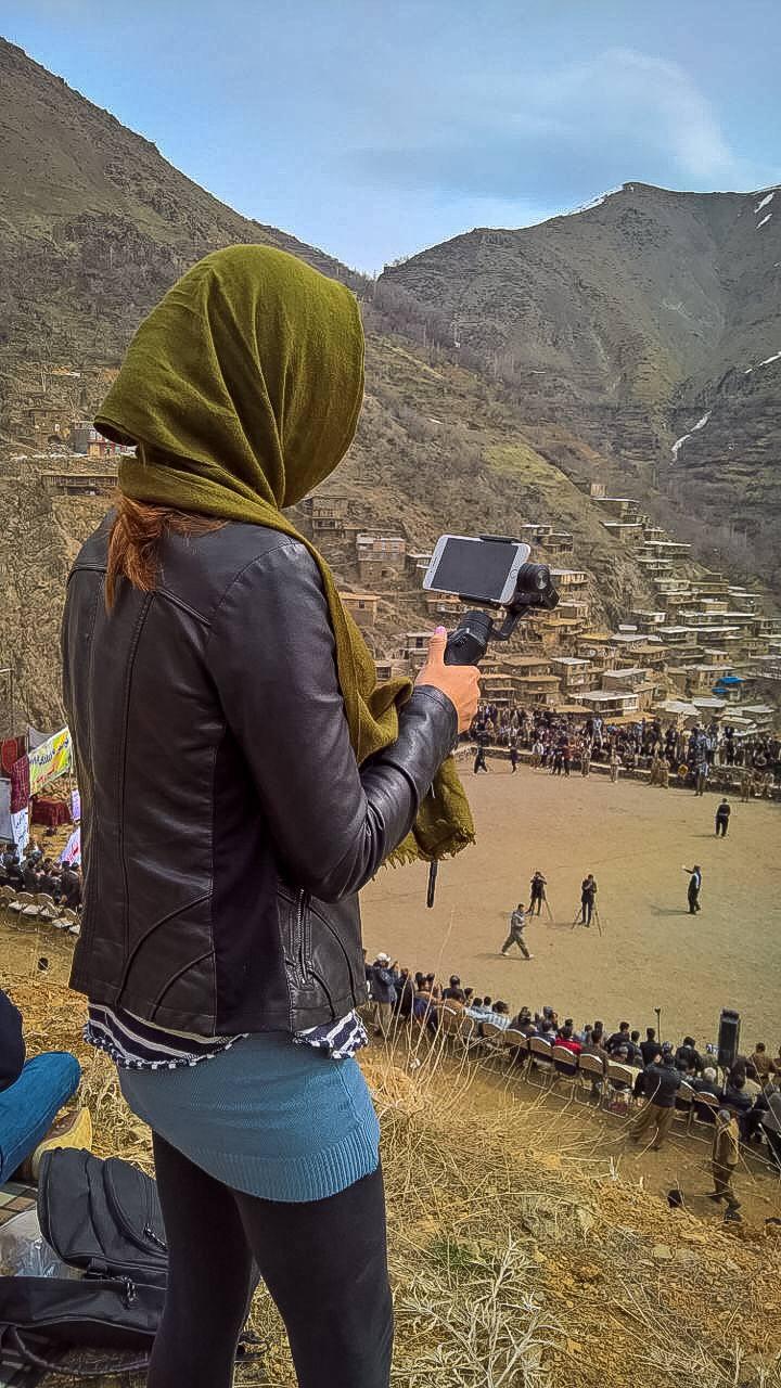 solo female travels in Iran