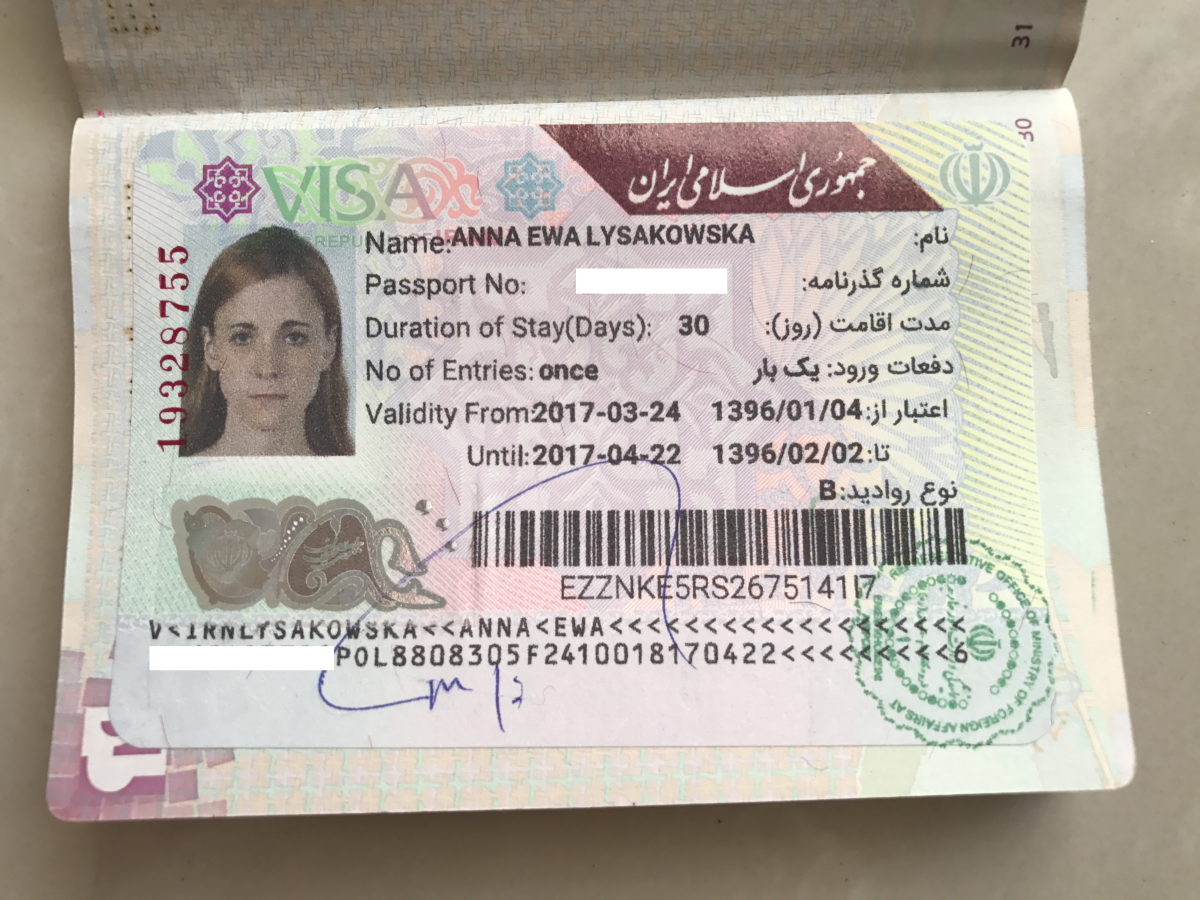 How To Get Iran Visa On Arrival Voa In 2018 Anna