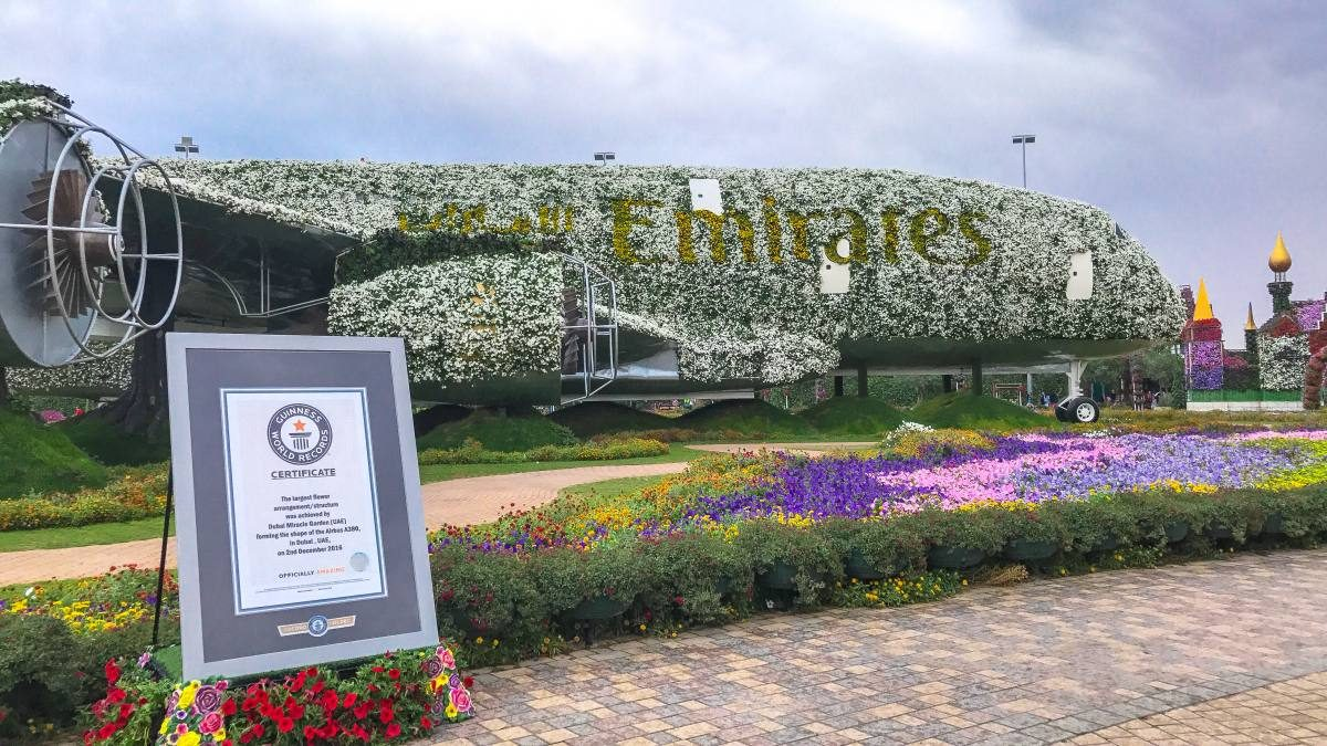 Emirates plane Dubai