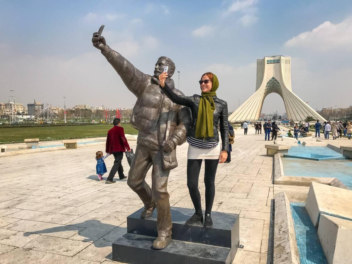 Iran selfies