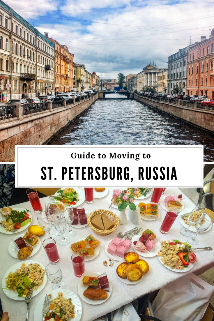 Moving to St. Petersburg, Russia
