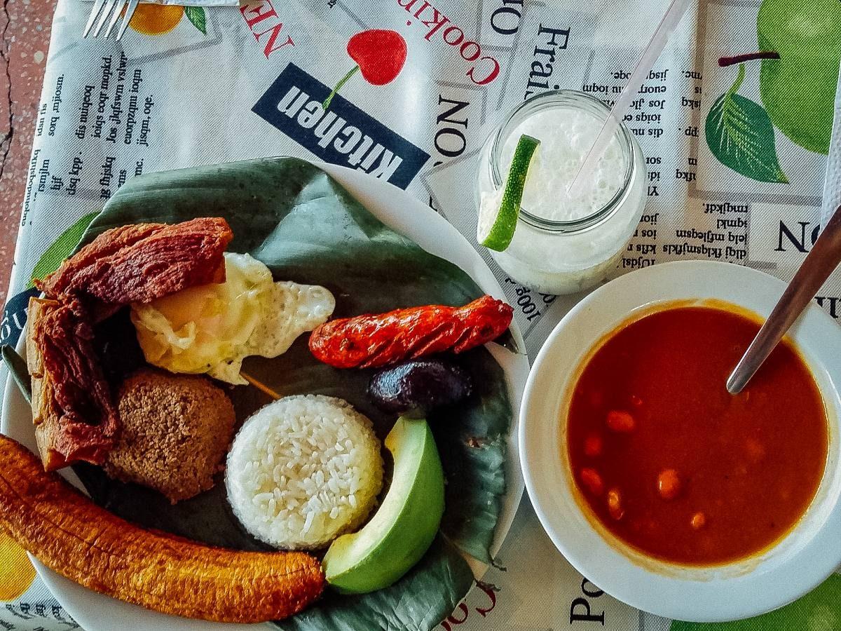food in Medellin
