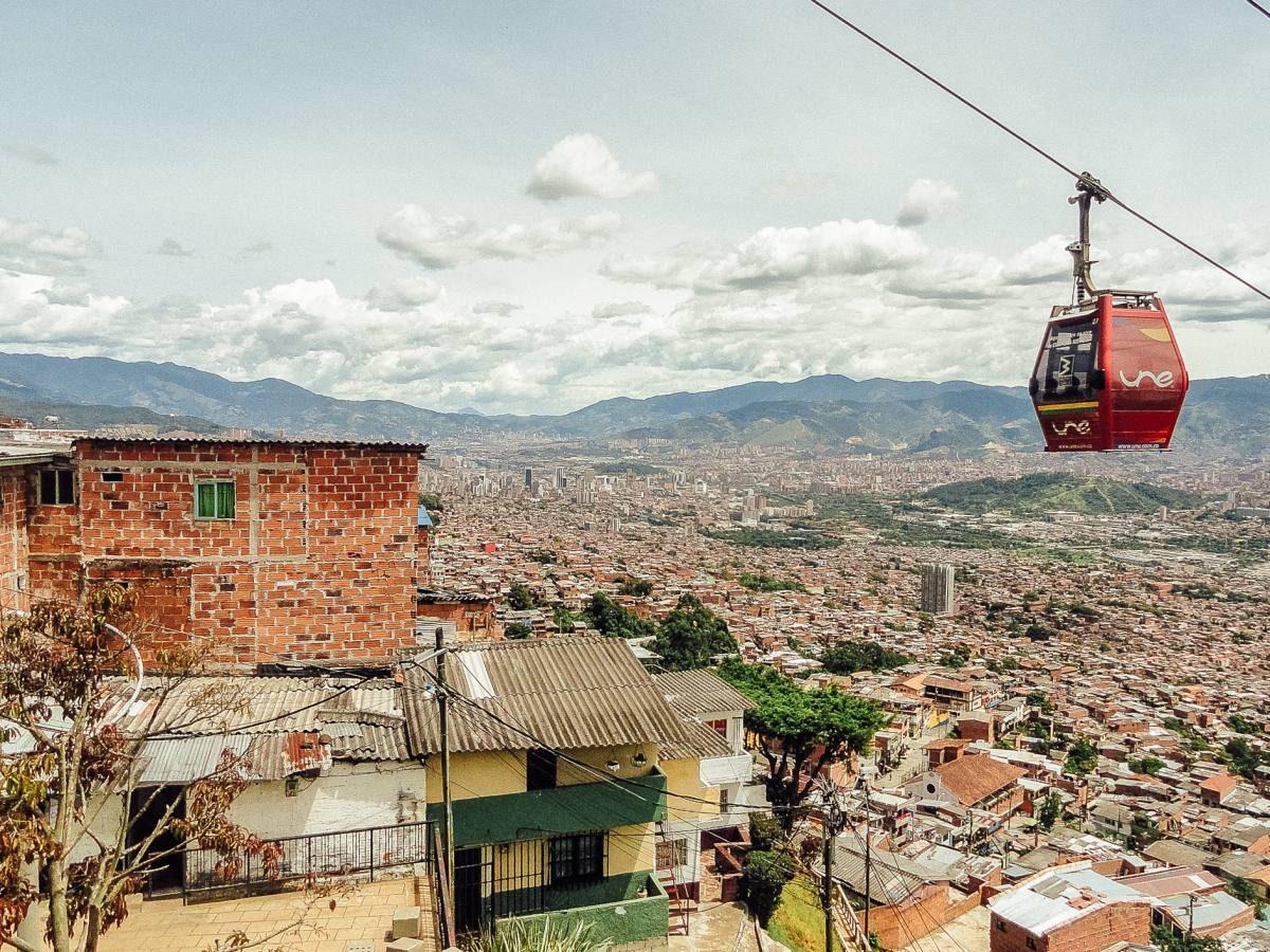 living in Medellin
