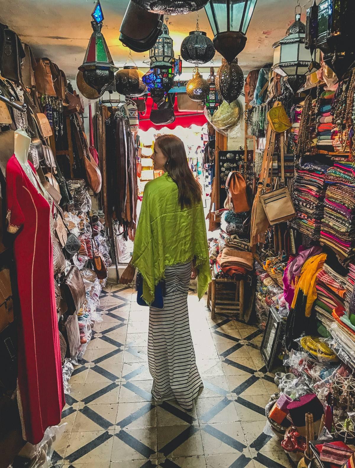 Morocco Maxi Dress with a Shawl