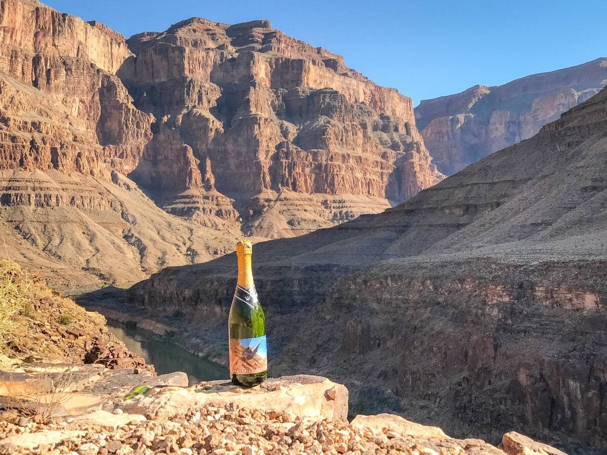 Grand Canyon champagne