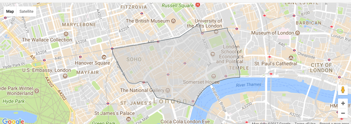 Map Of Areas Of London.Best Areas To Stay In London Anna Everywhere