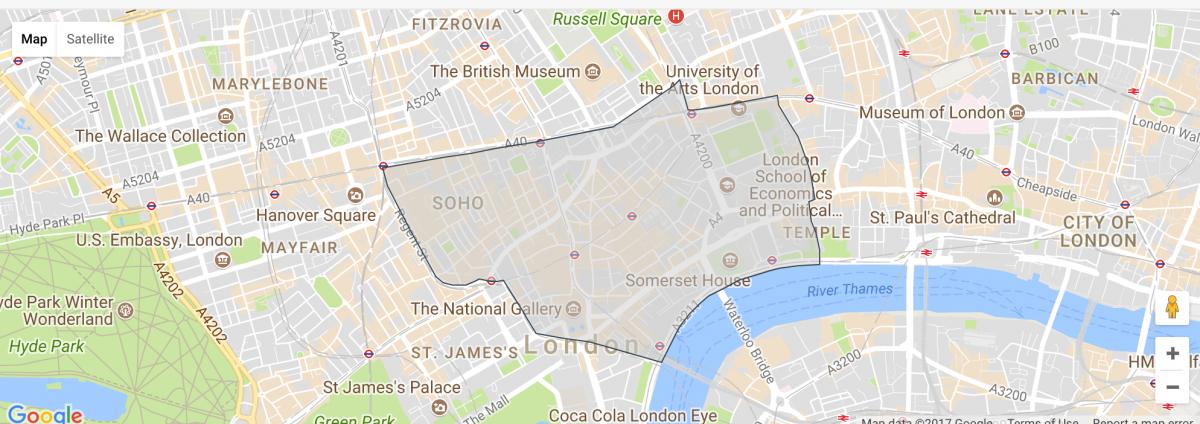 is soho london safe