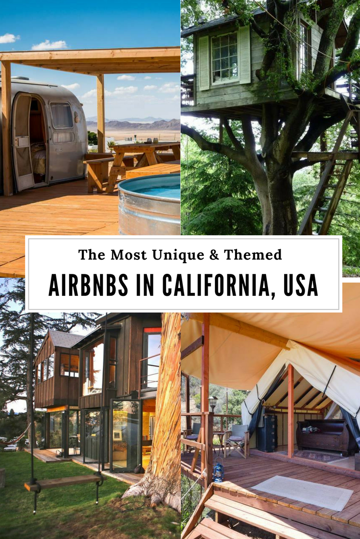 Themed AirBnBs in California