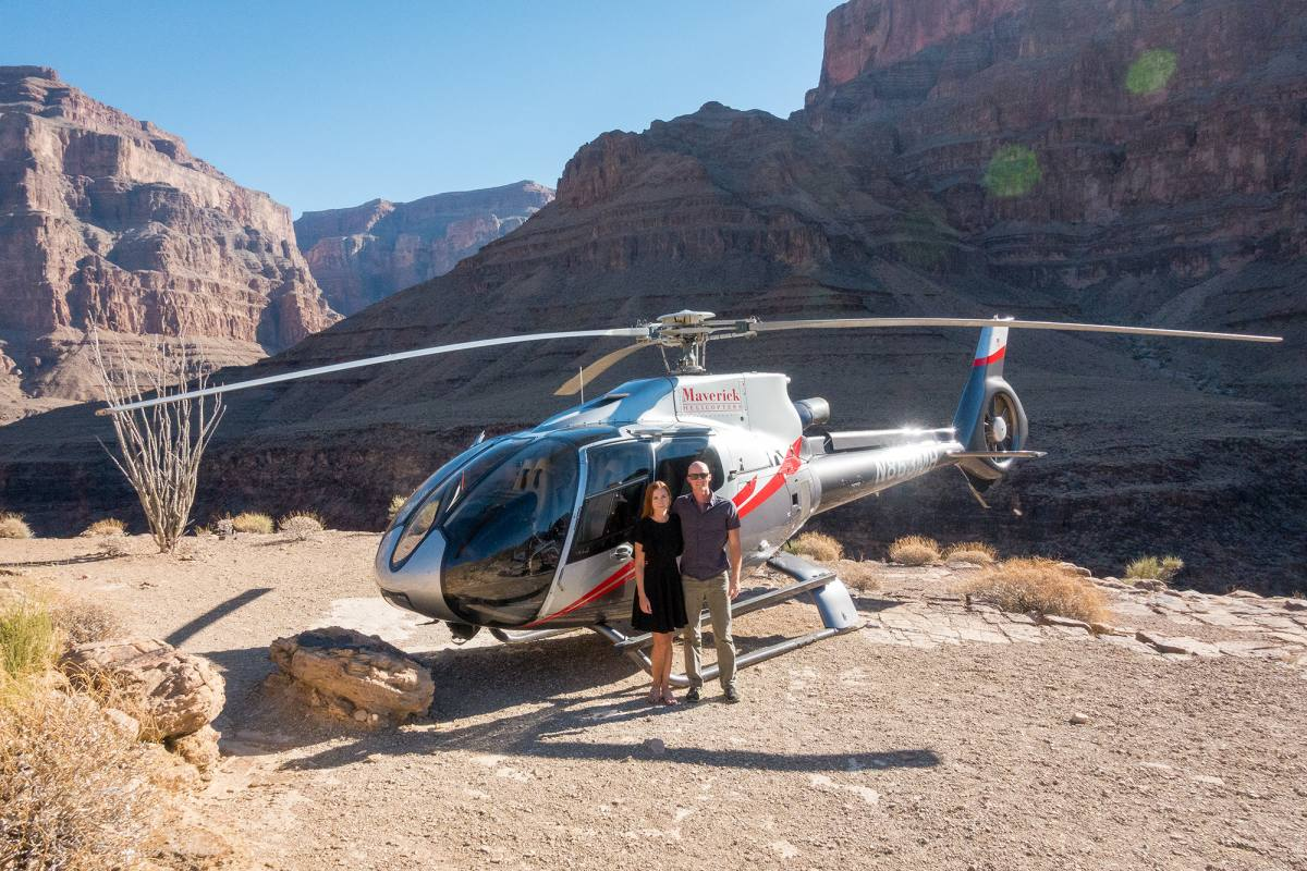 Grand Canyon Helicopter Tour With Maverick Helicopters  Anna Everywhere