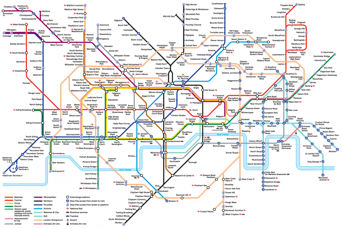 Sightseeing Map Of London.Best Areas To Stay In London Anna Everywhere