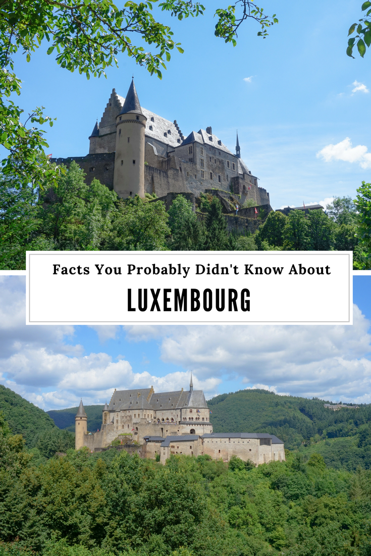 facts about Luxembourg