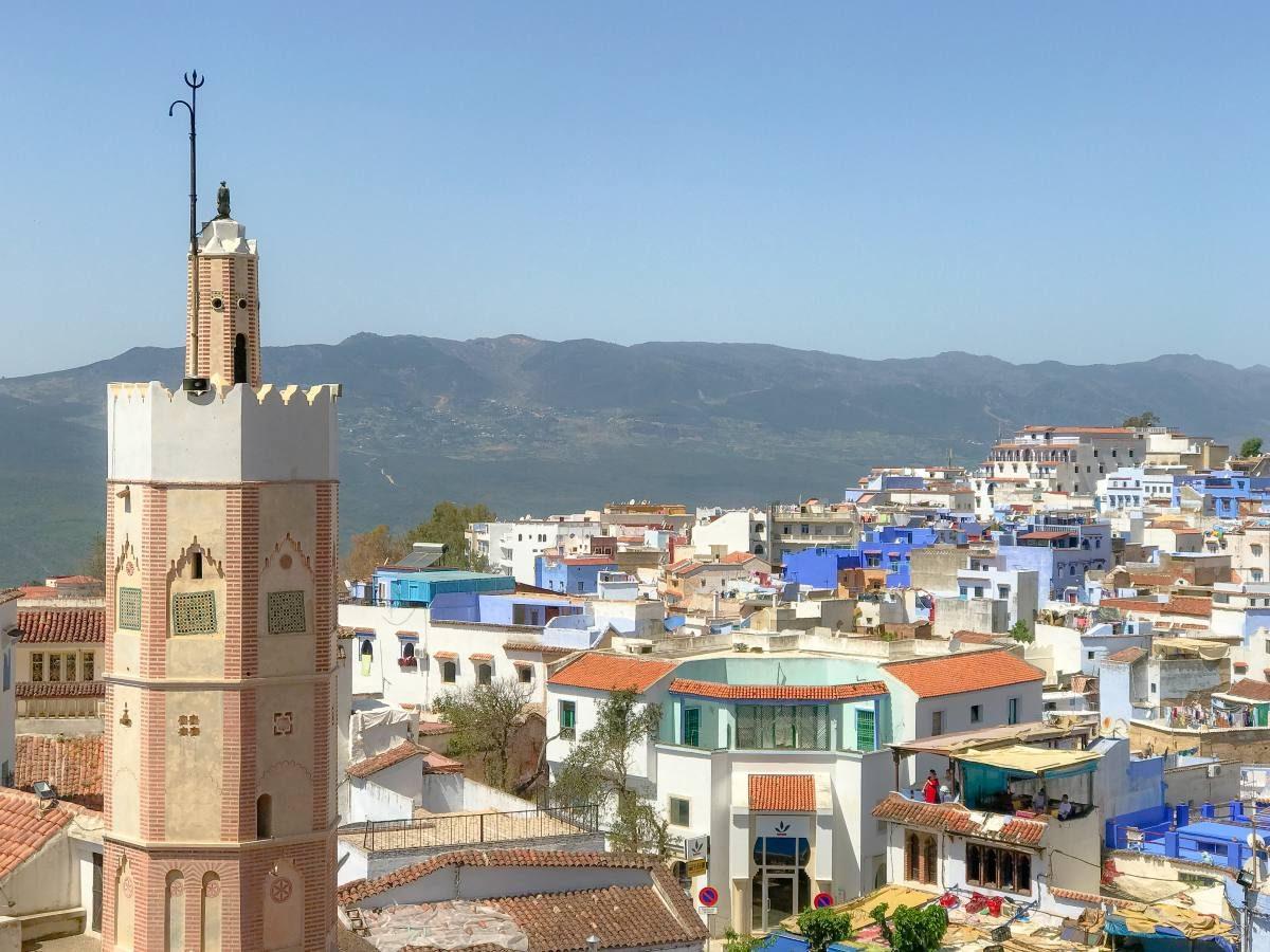 mosque chefchaouen