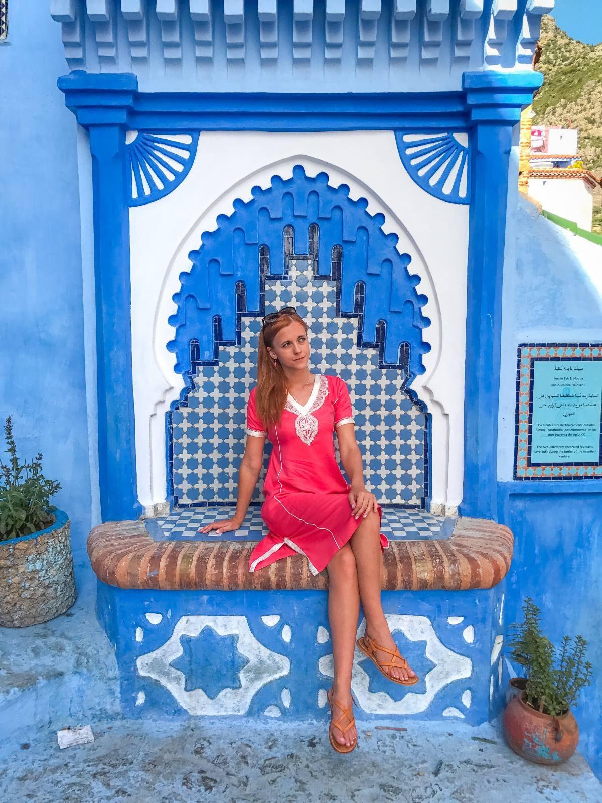 Moroccan Dress Short Sleeves