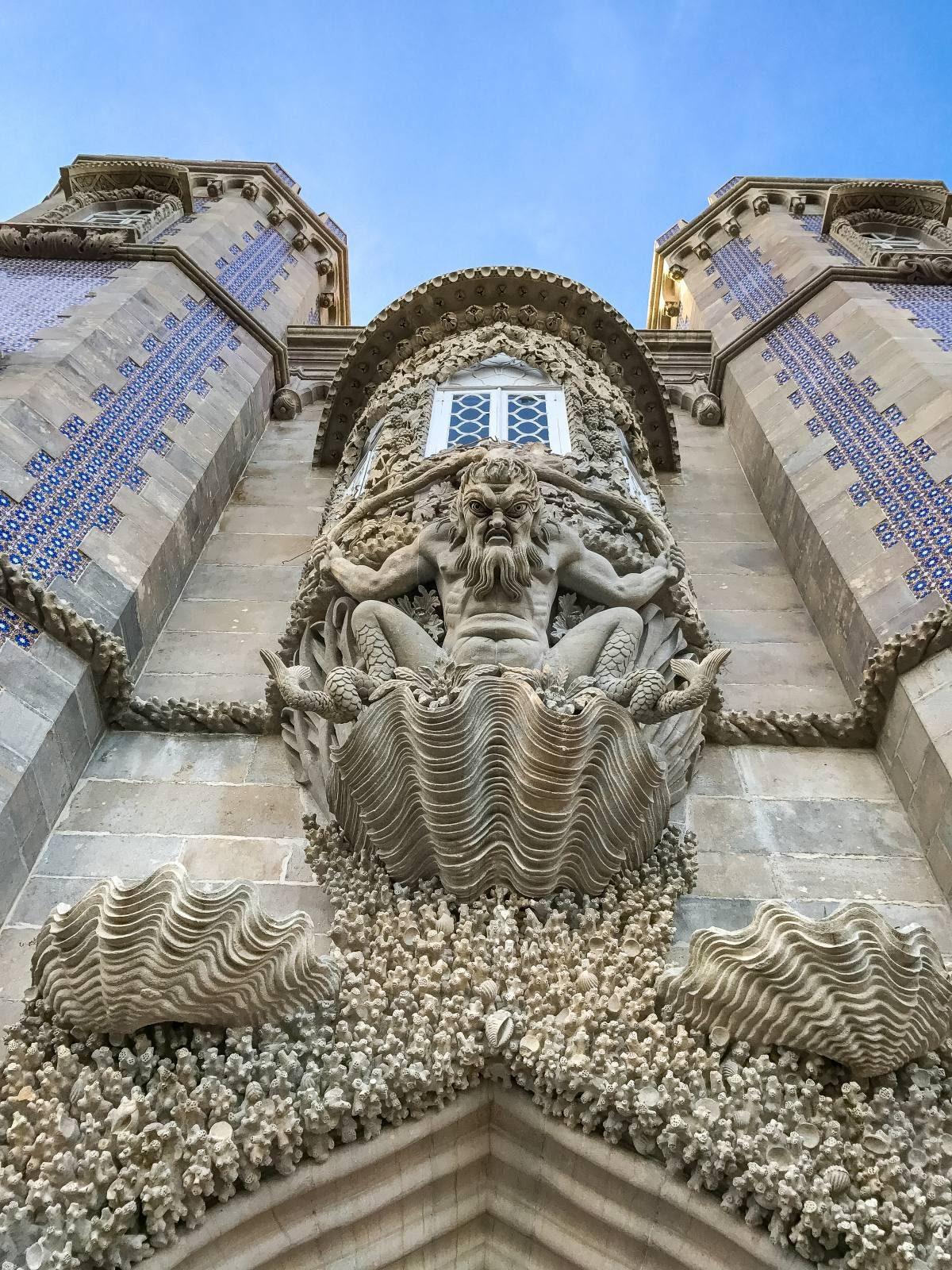 Sintra Pena Palace entrance