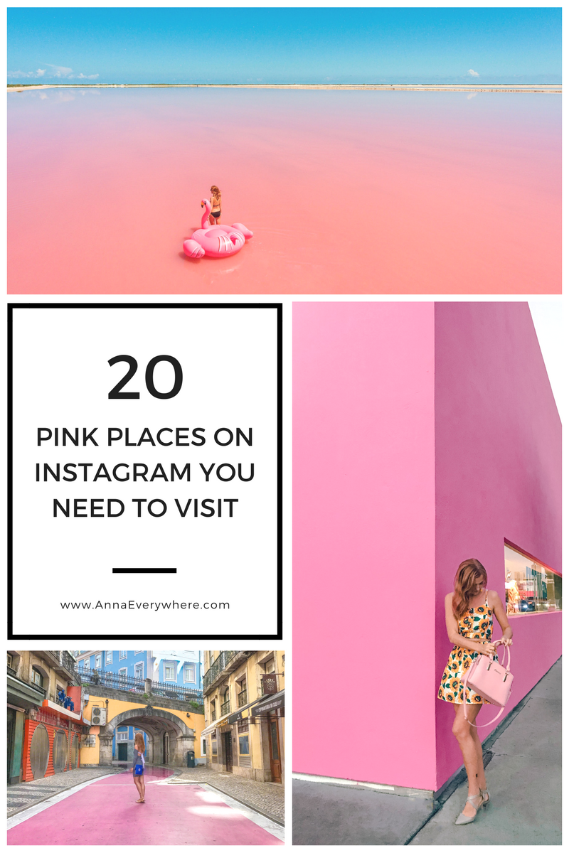 Pink Places on Instagram You Need to Visit